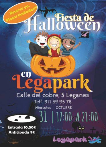Gran Fiesta de Halloween para niños en Leganés