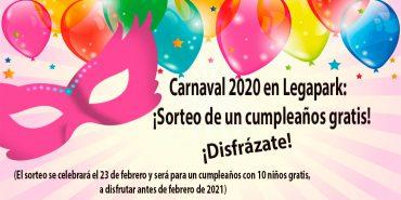 Carnaval 2020 en Legapark y en Leganés: ¡Te esperamos!